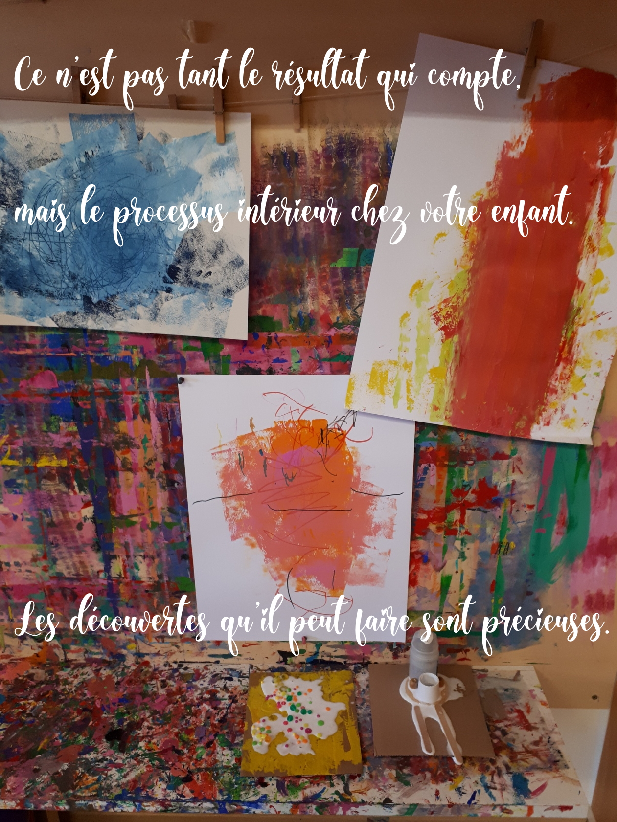 processus résultat peinture